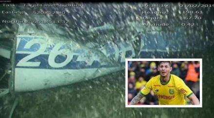 El cuerpo rescatado del avión es de Emiliano Sala