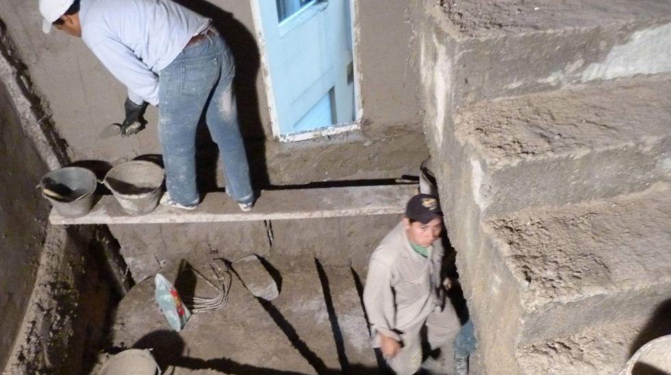 Construcción: salarios bajos y menor empleo en blanco