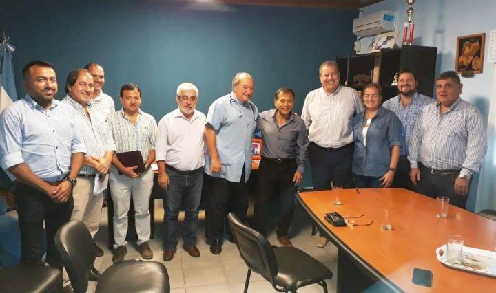 El Ministro de Salud Pública recorrió obras del Hospital de Alvear