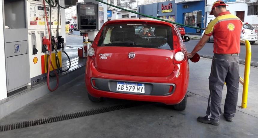 Los precios de los combustibles en la Shell aumentaron entre $0,78 y $0,96