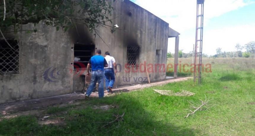 Trillizos fueron detenidos tras el robo en una escuela en Alvear