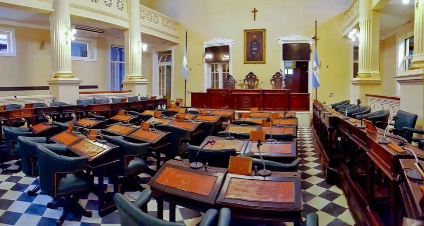 Valdés recibió a legisladores radicales: agenda parlamentaria en la mesa