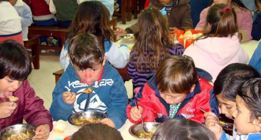 Al menos 50 mil personas acuden a los comedores comunitarios de la provincia