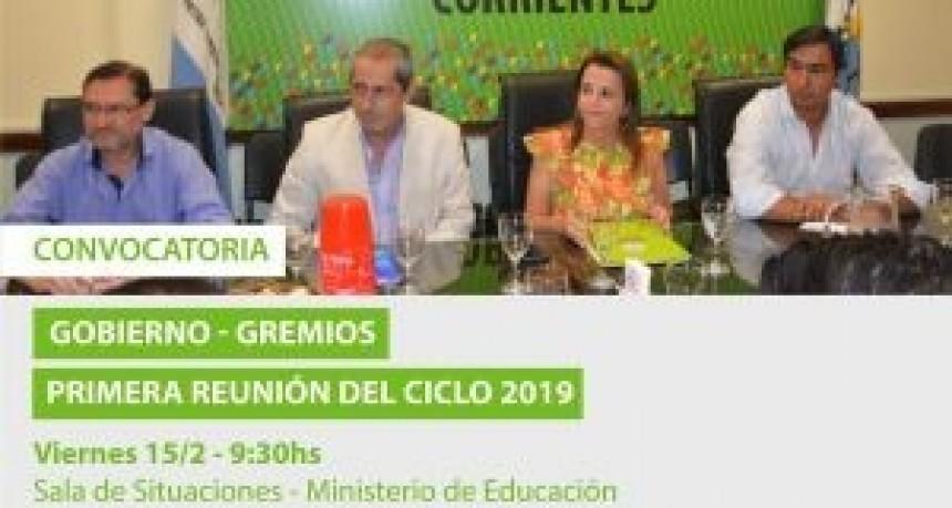 El Gobierno convocó para mañana a los gremios docentes