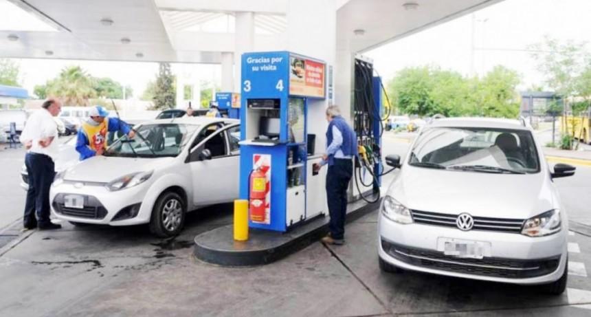 El aumento de los combustibles será de 3% y 5%