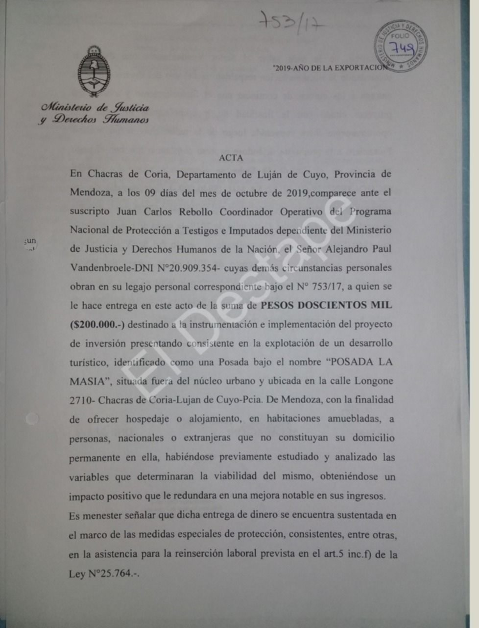 El macrismo le puso un hotel boutique a Alejandro Vandenbroele, arrepentido clave para condenar a Amado Boudou