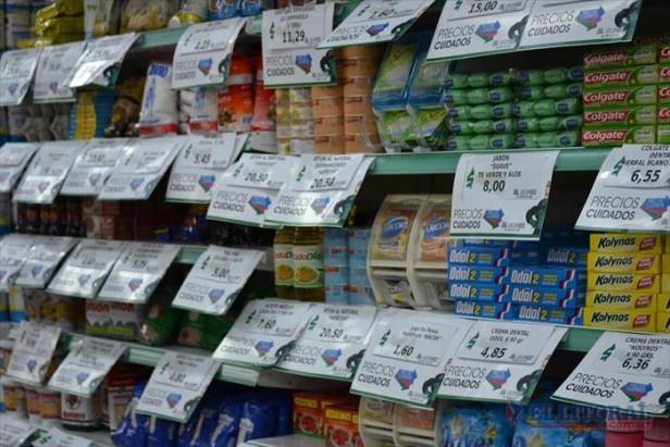 """Habilitan góndolas exclusivas para los productos del acuerdo """"Precios Cuidados"""""""