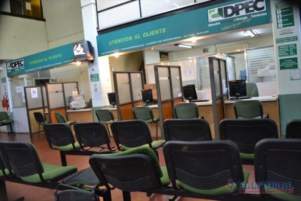 Trabajadores de la Dpec no atendieron al público y analizan medidas de fuerza