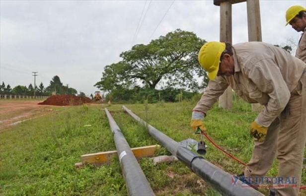 En abril comenzará la conexión domiciliaria de gas