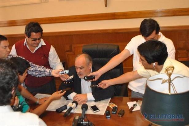 El gobernador denunció sabotaje de Luz y Fuerza y alertó sobre denuncias penales