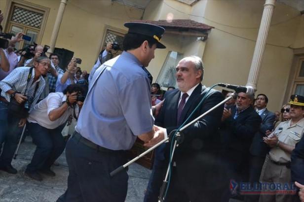 El último conflicto policial incidió en el cambio de jefatura en la fuerza