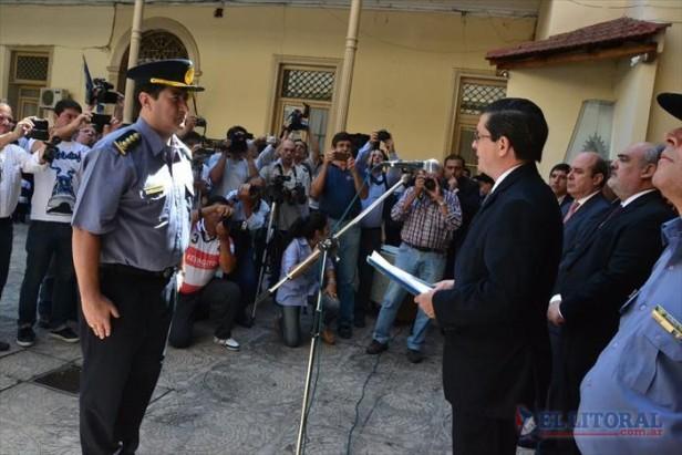 Con un fuerte respaldo gubernamental asumió la nueva cúpula de la Policía