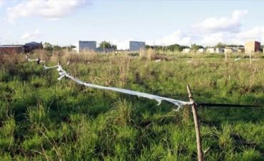 Unas 100 personas intentaron usurpar terrenos en el barrio San Roque Oeste