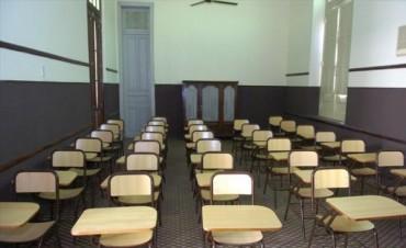 Las clases comenzaron con pocos docentes y aulas vacías en casi todas las escuelas