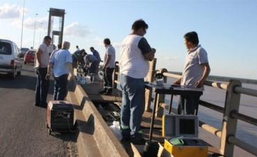 Quema de cables en el puente demoró el tránsito y obligó a conexiones auxiliares