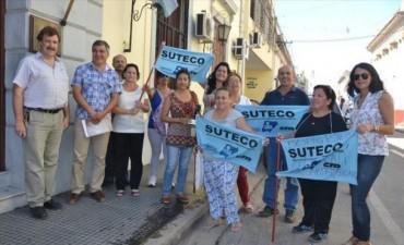 Docentes de Suteco esperan llamado del Gobierno y amenazan con otro paro