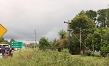 Un tornado afectó Tatacuá y por las lluvias hay áreas inundadas en varias localidades