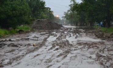Más de 200 mm en cuatro días provocó serios anegamientos en varios barrios