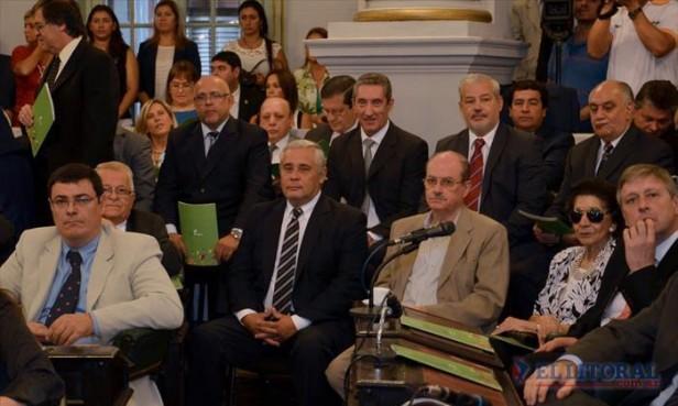 Ríos sobre el discurso de Colombi: