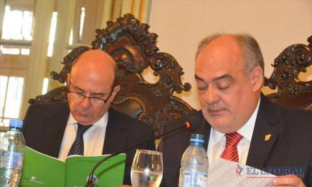 Con durísimas críticas al Gobierno Nacional, Colombi abrió las sesiones ordinarias