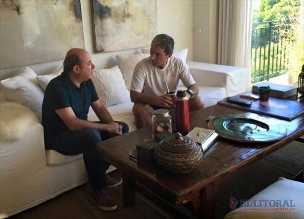 """Canteros y Pepe Scioli analizaron la política nacional: """"Daniel se consolida"""""""