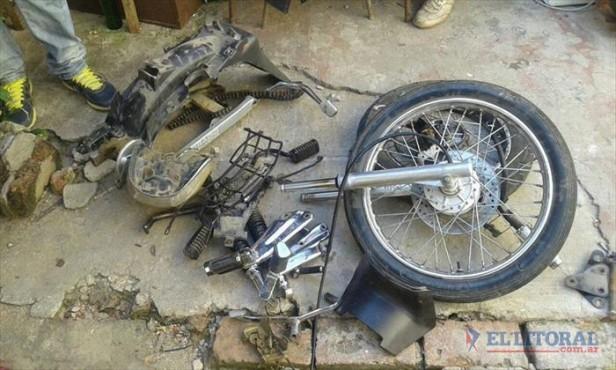Muerte del mecánico: encontraron su moto desarmada y el arma homicida