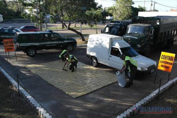 Secuestraron más de 440 kilos de marihuana y detuvieron a dos personas