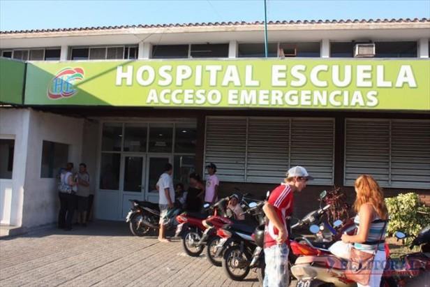 Balearon a un joven que se resistió al robo de su moto en el barrio Esperanza
