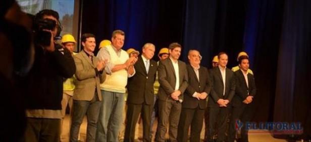 Cristina y Colombi inauguraron la línea eléctrica Iberá-Goya y destacaron el impacto en la región