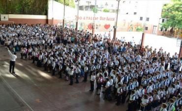 Los chicos regresaron a las aulas y se programan más de 20 cortes de cinta