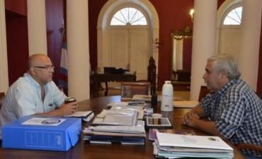 """Provincia y Municipio avanzan con la """"agenda común"""""""