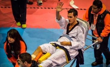 Grave lesión de Sebastián Crismanich hace peligrar su chance de llegar a Río