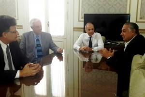 Diputados y el STJ acordaron agenda de trabajo conjunta