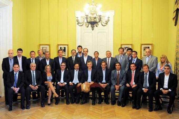 Ríos participó del encuentro de los intendentes con Macri