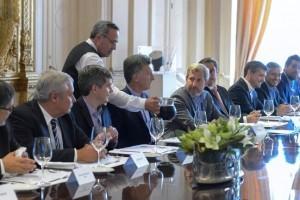 Fabián Ríos y Capitanich plantearon proyectos comunes al Presidente