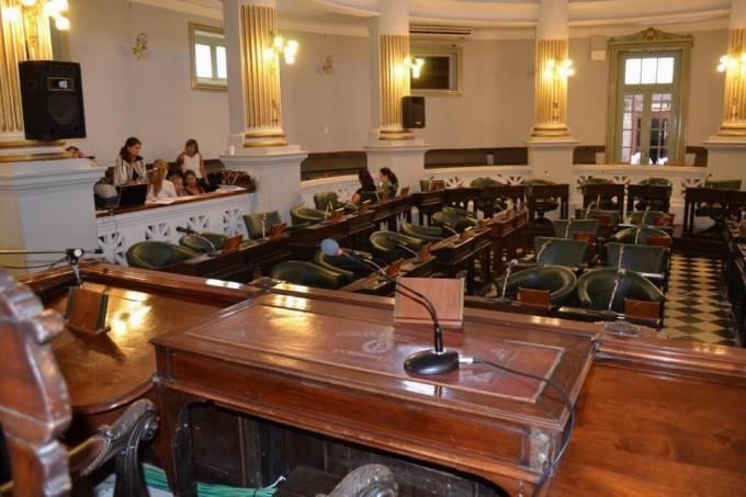 Senadores almorzaron y no sesionaron