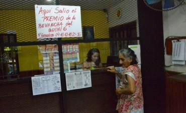 El Quini 6 volvió a salir en Corrientes, esta vez con 39 millones de pesos