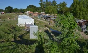 Ya son 30 las familias evacuadas por la creciente del río en Capital