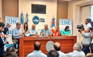 El Municipio formalizó la entrega de 420 lotes al INVICO