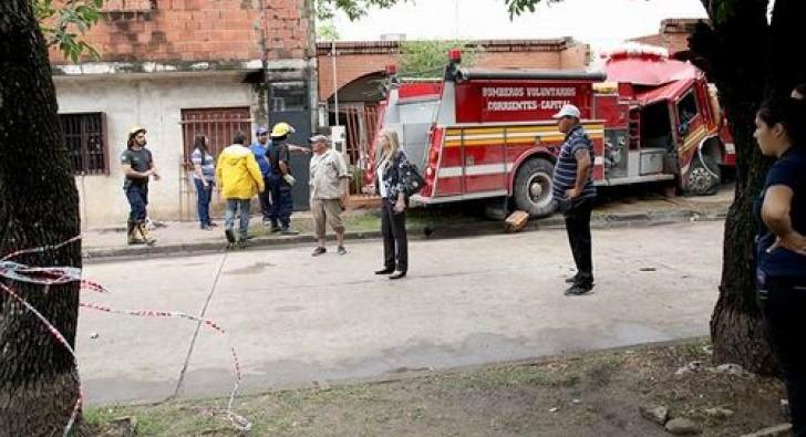 Tragedia de los bomberos: una falla mecánica, la posible causa
