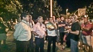Ahora Ortega no quiere reunirse con los policías que protestan bajo el puente