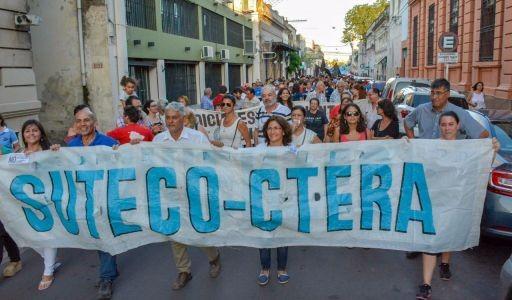 """Suteco rechazó por """"insuficiente"""" la propuesta de Provincia y adhiere al paro nacional convocado por Ctera"""