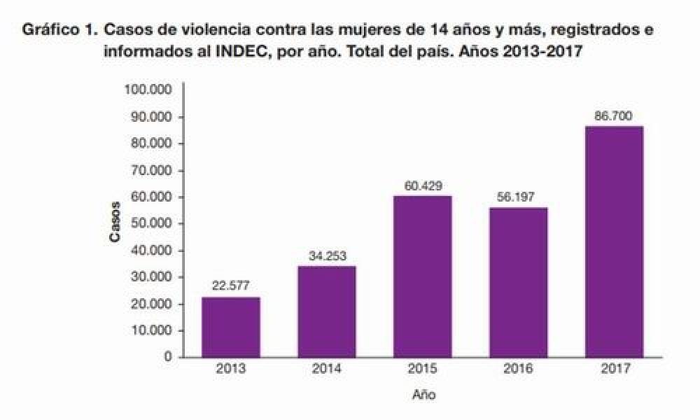 Advierten que desde 2013 se cuadriplicaron los casos de violencia de g nero - Casos de violencia de genero ...