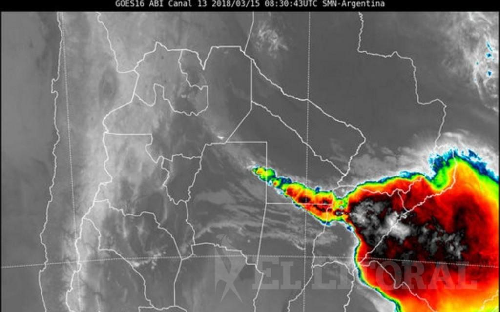 Alerta meteorológico en Corrientes y gran parte de la región