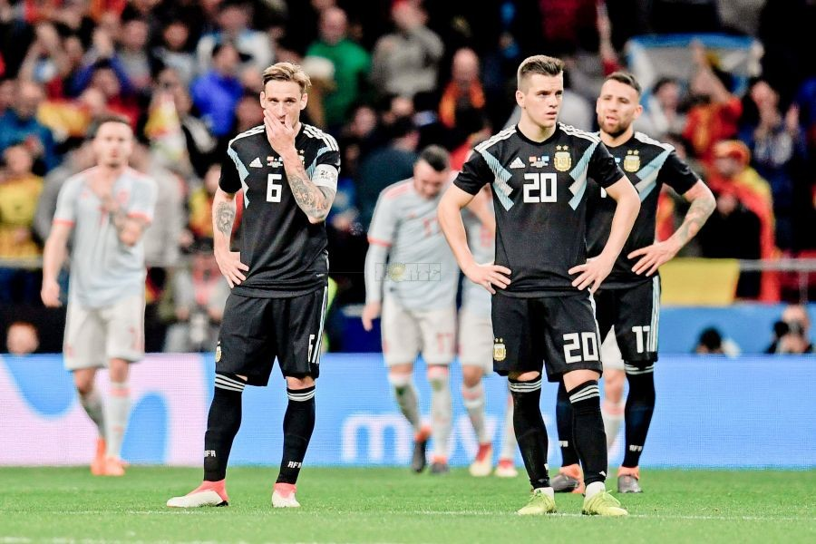 Argentina y un papelón histórico antes del Mundial: perdió 6 a 1 contra España