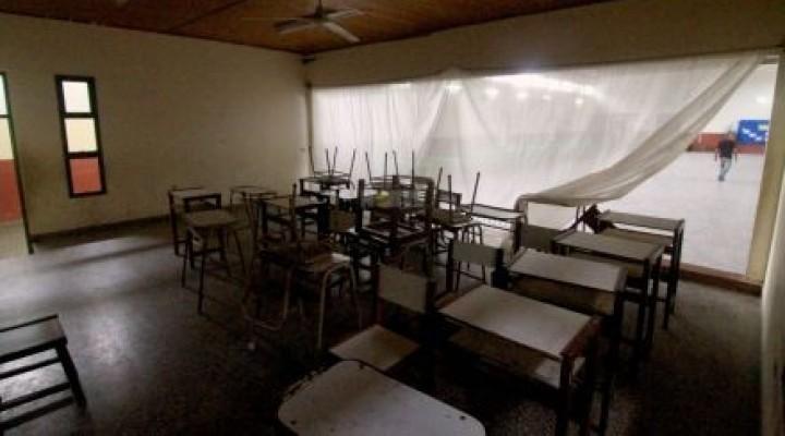 El paro de los docentes tuvo un fuerte impacto en las escuelas públicas del país