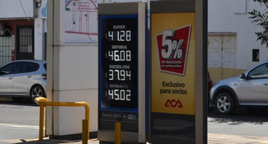 YPF abre marzo con subas del orden del 2,8% en sus naftas