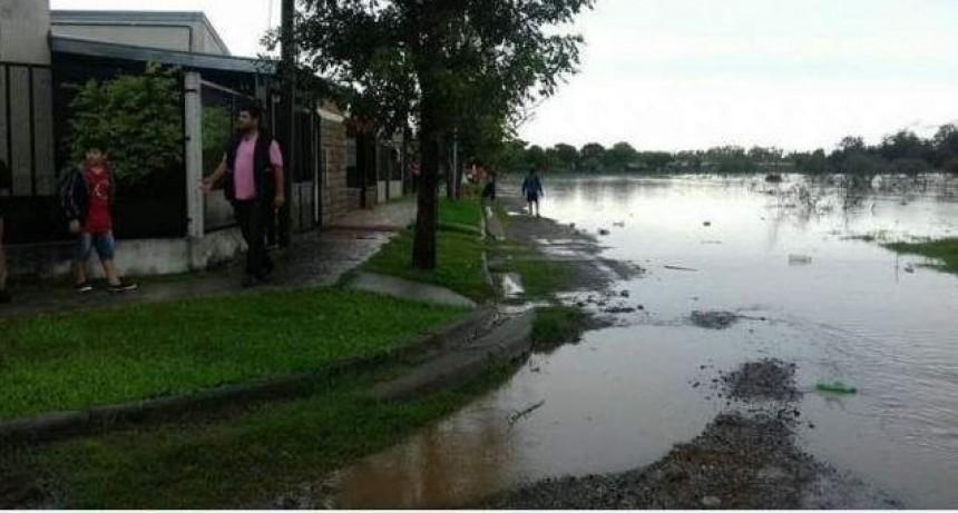 Perugorría permaneció más de 25 horas sin luz debido al temporal