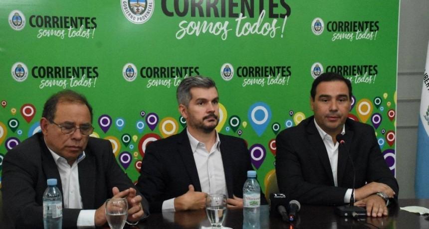 """Valdés y Peña pidieron """"pensar en grande"""" para la transformación de Corrientes"""