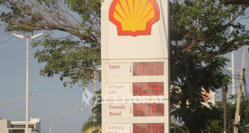 Shell: tras el último aumento, el litro de combustible superó los $52 en Corrientes